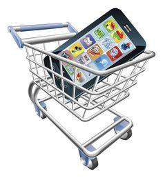 Smartphone Shopping Cart