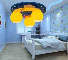 Красивые детские потолочные светильники