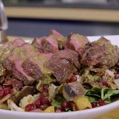 Meat Recipes, Wine Recipes, Food Processor Recipes, Healthy Recipes, Simple Recipes, Camping Recipes, Roasted Veggie Salad, Meat Marinade, Flat Iron Steak