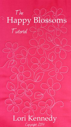 Great website with Free Motion Quilting tutorials.