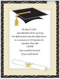 free printable graduation party templates graduation announcement