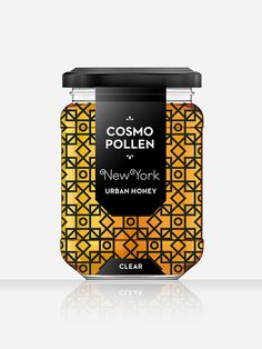 Cosmopollen Urban Honey   Designed by Louise Twizell. I love this design, it is like a modernized honeycomb. It is contemporary and looks very lavish not like your typical teddy bear container of honey.