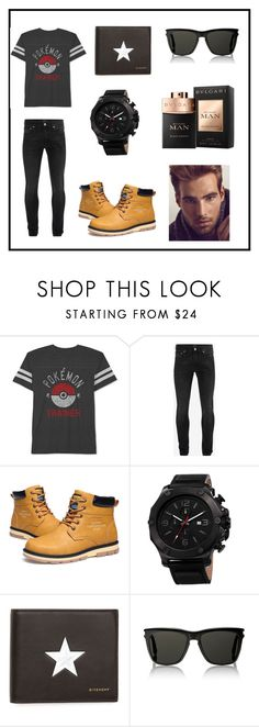 """Bez naslova #18"" by jasmina-ishak ❤ liked on Polyvore featuring JEM, Alexander McQueen, Joshua & Sons, Givenchy, Yves Saint Laurent, Sebastian Professional, men's fashion and menswear"