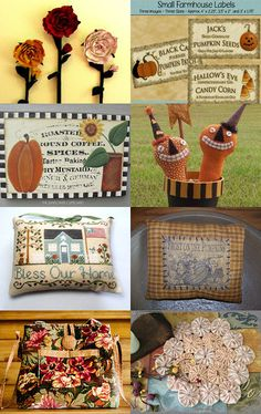 Some of my favorite things from TeamHAHA Artists by Sheila on Etsy