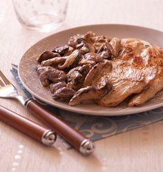 Mincir avec thermomix - Spécial régime DUKAN : Escalope de dinde à la crème d'oignon - DUKAN