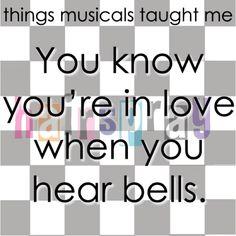 I hear the bells.....