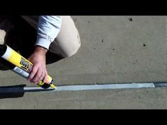 How To Caulk Your Pool 39 S Expansion Joint Home Stuff Pinterest Expansion Joint