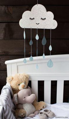 Top 10 DIY Cute Nursery Mobile Ideas