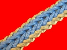How to make a Woven Falls Sinnet Paracord Bracelet Tutorial (Paracord Pet Accessories, Dog Toys, Cat Toys, Pet Tricks Armband Tutorial, Paracord Tutorial, Macrame Tutorial, Bracelet Tutorial, Paracord Weaves, Couture Main, Paracord Dog Leash, Paracord Projects, Paracord Bracelets