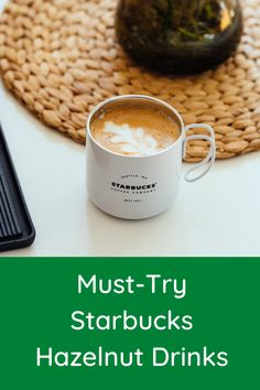 If you're a hazelnut coffee lover, this article will excite you. It extensively outlines the different kinds of hazelnut coffee drinks Starbucks offer, including their composition, taste, nutritional information, plus other essential details you should know about them. #starbucks #coffee Coffee Cream, Coffee Type, Coffee Latte, Espresso Coffee, Black Coffee, Coffee Tasting, Coffee Drinkers, Types Of Coffee Beans