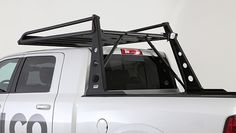 The Wilco Off-Road ADV Rack System provides over-the-cab cargo management and secure mounting for an oversized spare tire while keeping the truck bed free for cargo. Dodge Trucks, Pickup Trucks, Dodge Cummins, World Market Bar Cart, Atv Racks, Balustrade Balcon, Navara D40, Home Bar Areas, Bar Refrigerator