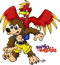 Banjo Kazooie by KrazyGal.deviantart.com on @DeviantArt