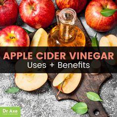 Apple cider vinegar - Dr. Axe
