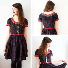 Viele viele Füchse: Some vintage outfits - I am definitely addicted.