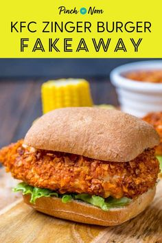Our KFC Zinger Burger Fakeaway recipe is the perfect slimming friendly replacement for any diet plans like Weight Watchers or similar! Slimming World Fakeaway, Slimming World Chicken Recipes, Slimming World Recipes Syn Free, Burger Recipes, New Recipes, Cooking Recipes, Healthy Recipes, Brie, Quinoa