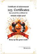 Funawards funny certificates halloween awards free printable funawards funny certificates halloween awards free printable certificatepdf halloween pinterest funny certificates yadclub Choice Image
