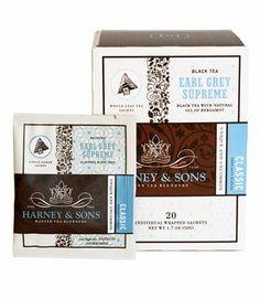 Earl Grey Supreme tea by Harney & Sons. So good!