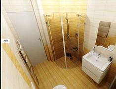 Koupelna - Inspirace | Modrastrecha.cz Bathtub, Bathroom, Standing Bath, Washroom, Bathtubs, Bath Tube, Full Bath, Bath, Bathrooms