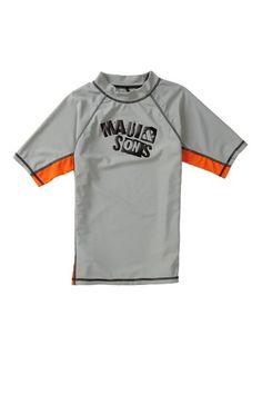Shocked Rash Guard by Maui & Sons Boys on @HauteLook