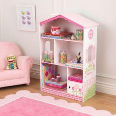 KID-14604 Dollhouse Cottage Bookcase