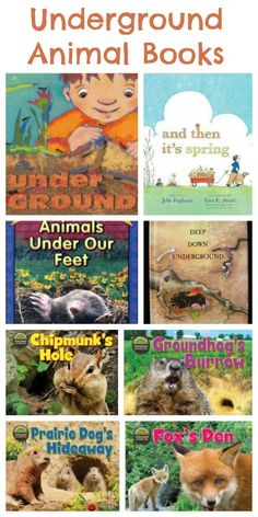 Underground Animal Books use for #preschool children while older siblings use Apologia Zoology books for #homeschool science