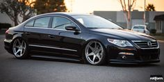 Rotiform designs and builds the finest cast and custom forged wheels for your automobile. Focused on style, strength, and aggressive fitment, Rotiform Wheels are the ultimate. Vw Cc R Line, Volkswagen, Black Audi, Car Goals, Vw Cars, Car Wheels, Vw Passat, Vans, Cars Motorcycles