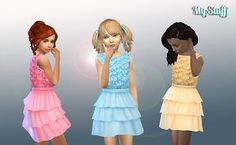 Mod The Sims - Roses Dress