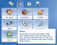 Traits pack the sims 4 cc - traits/aspirations sims The Sims 4 Pc, Sims Four, Sims 4 Mm Cc, Sims 4 Cc Skin, Sims 4 Mods, Sims 4 Game Mods, Sims Games, Sims Traits, Sims 4 Gameplay