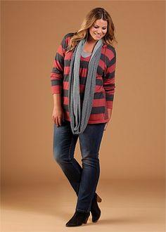 Virtu Ashford Pullover #plussize #curvy #fashion