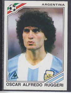 world cup panini mexico 86 - O.A.Ruggeri