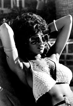 Pam Grier (1949-  ) Personal Quote:  People see me as a strong black figure, and I'm proud of that, but I'm a mix of several races: Hispanic, Chinese, Filipino. My dad was black, and my mom was Cheyenne Indian. So you look at things beyond just race, or even religion: I was raised Catholic, baptized a Methodist, and almost married a Muslim.