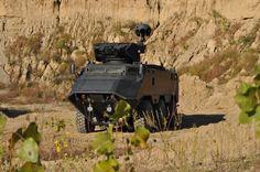 Desert Chameleon Armored personnel carrier – Kuwait Ministry of Internal Affairs