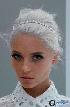 Pretty White hair