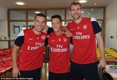 ~ The German influence on Arsenal FC - Lukas Podolski, Mesut Ozil and Per Mertesacker ~
