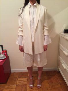 #옷스타그램#데일리룩 #아웃핏 #style #도매 #suit #nyc #newyorkfashion #clothing #clothingwholesale #wholesaler #nymarket #ootd #culotte #widelegpant #offwhite #navermarket