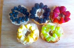 Make these Olympic bagels