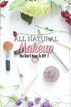 Want all natural makeup, but don't want to DIY it? Come find out my favorite natural makeup company.