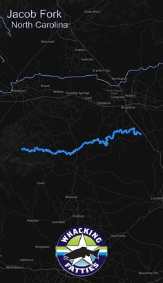 Jacob Fork, North Carolina fly fishing report. Check out Whacking Fatties for the latest fly fishing report and forecast.  With the goal of better understanding fly-fishing patterns and predicting location and ferocity of fishable events, Whacking Fatties presents the Fatty Factor: a fly-fishing success estimation model using proprietary big data analytics.  We promote responsible fishing via catch and release practice and water resources conservation. Charlotte, Raleigh, Greensboro…