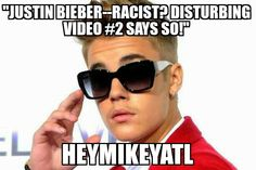 Justin Bieber goes too far! Check out his latest racist video now! http://heymikeyatl.com/2014/06/04/justin-bieber-racist-disturbing-video-2-says-so/ #JustinBieber #RacistVideo #CelebrityNews #heymikeyatl #Kontrol #KuKluxKlan #Onelesslonelygirl