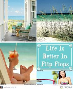 Lazy Summer Days. I work & play in flip flops. Comfort style