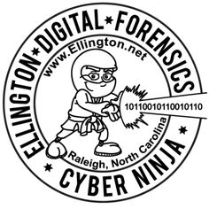 Welcome Cyber Ninja, Forensics, Business Design, Personalized Items