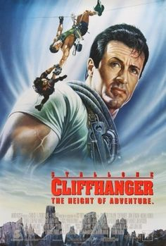 Cliffhanger (1993) movie #poster, #tshirt, #mousepad, #movieposters2