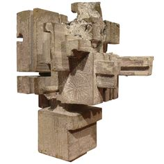 One-Off Brutalist Sculpture by Don Drumm | From a unique collection of antique and modern sculptures at http://www.1stdibs.com/furniture/more-furniture-collectibles/sculptures/