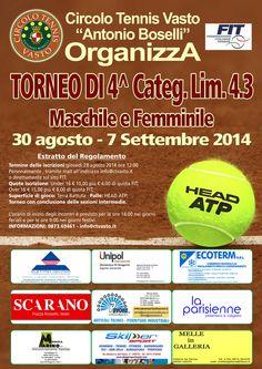 A Celenza Giuseppe e Cicchitti Luciana la vittoria nel Torneo di Tennis di 4° categoria  di Vasto
