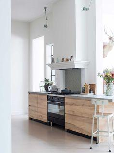 Keuken | kitchen | vtwonen 06-2017 | Fotografie Louis Lemaire/Inside Homepage | Styling Esther Jostmeijer