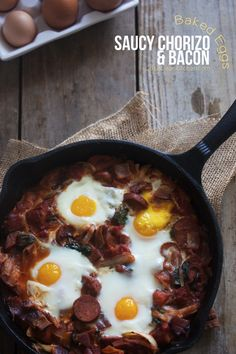 Your new favorite breakfast looks super fancy, but barely requires any cooking skills to pull off.