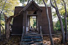 """Church on North Brother Island """"A Visit to Typhoid Mary's New York Domain"""" - NYTimes.com"""