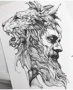 wolf and stag instead Strength and Wisdom Feliz dias das mães Tattoo Sketches, Tattoo Drawings, Body Art Tattoos, Art Sketches, Sleeve Tattoos, Art Drawings, Fuchs Tattoo, Tattoo Hals, Desenho Tattoo