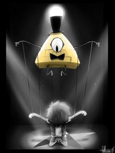 Pupets Are Fun-Gravity falls fan art by Cosmic-Crackers on DeviantArt
