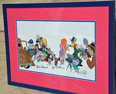 "HANNA BARBERA, ""TOM AND JERRY"" & Host of MGM characters,Signed CEL, RED HOT,NICE  